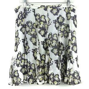 Club Monaco Silk Skirt